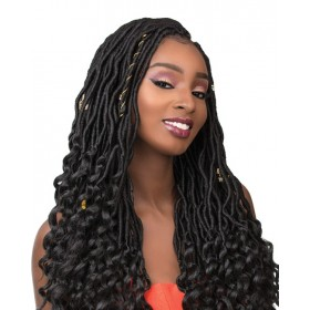 "SENSAS natte 3x GODDESS LOCS 18"" (Loop)"