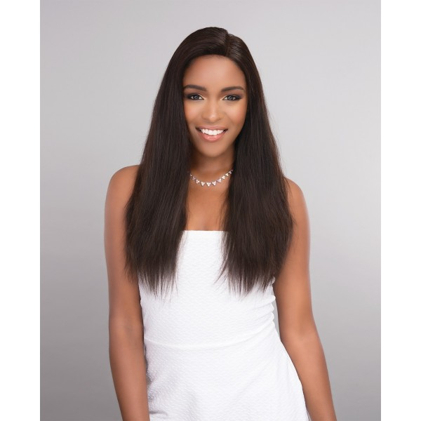 """JANET tissage modulable TIPLEX HAIR 13""""x4"""" LACE FRONTAL 4pcs"""