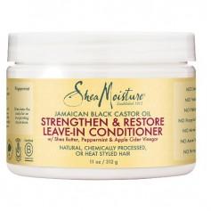 SHEA MOISTURE RICIN BLACK CASTOR OIL Conditioner 312g (Leave-in)