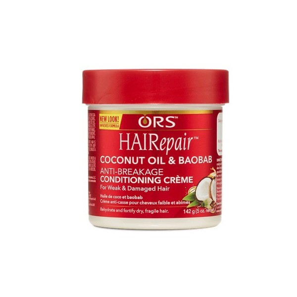 ORS Crème anti casse Coco & Baobab Hairepair 142g