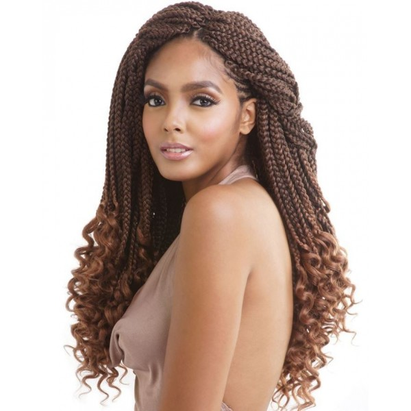 MANE CONCEPT natte CURLY ENDS box braid 18""