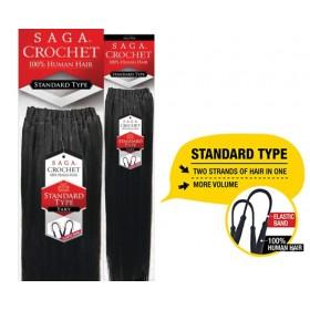 "SAGA natte crochet standard type YAKY 14"""