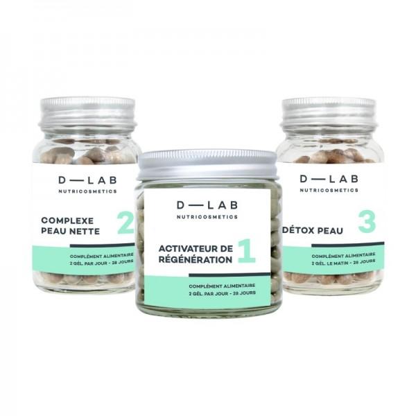 D-LAB Complément alimentaire PEAU PARFAITE (1mois)