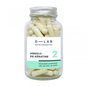 D-LAB Complément alimentaire ABSOLU KÉRATINE (3mois)