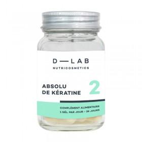 D-LAB Complément alimentaire ABSOLU KÉRATINE (1mois)
