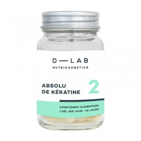 D-LAB Food supplement ABSOLUTE KERATIN (1 month)
