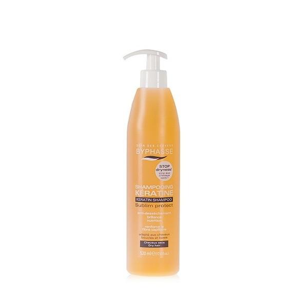 BYPHASSE Shampooing à la kératine SUBLIM PROTECT 520ml