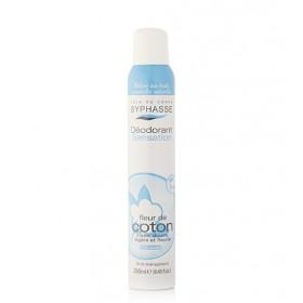BYPHASSE Déodorant sensation FLEUR DE COTON 250ml