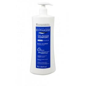 BYPHASSE Gel douche confort pour peaux sensibles 1L