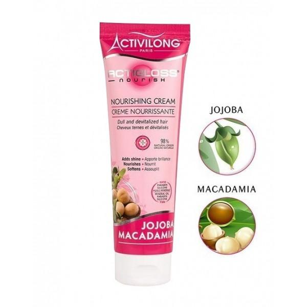 ACTIVILONG Crème capillaire nourrissante JOJOBA & MACADAMIA 125ml