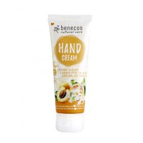 BENECOS Crème pour les mains à l'abricot & fleur de sureau BIO 75ml