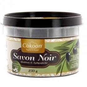 COKOON Savon noir à l'huile d'olive 250g