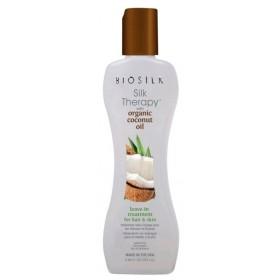 BIOSILK Soin hydratant pour corps et cheveux COCONUT OIL 67ml