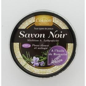 COKOON Savon noir à l'huile de romarin 250g