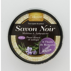 Savon noir à l'huile de romarin 250g *