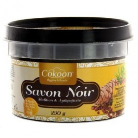 COKOON Savon noir à l'huile de cèdre d'atlas 250g