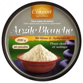 COKOON Argile blanche 100% NATURELLE 200g