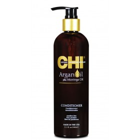 CHI Après-shampooing aux huiles d'ARGAN & de MORINGA 340ml