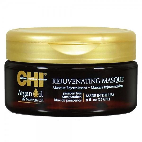 CHI Masque capillaire rajeunissant aux huiles d'ARGAN & de MORINGA 237ml