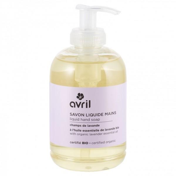 AVRIL Savon liquide pour les mains à l'huile essentielle de lavande BIO 300ml