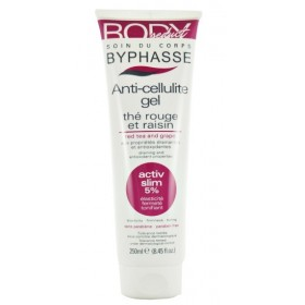 BYPHASSE Gel anti-cellulite au thé rouge et au raisin 250ml