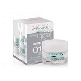 BYPHASSE Crème lift instant jeunesse soin de nuit Q10 50ml