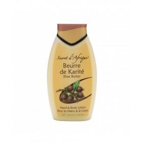 SECRET D'AFRIQUE Crème pour le corps et les mains KARITÉ 500ml