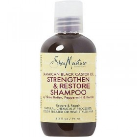SHEA MOISTURE Shampooing Jamaican Black Castor Oil 94ml FORMAT VOYAGE