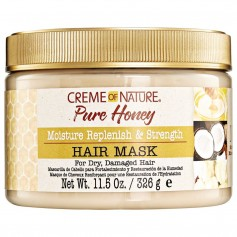 Masque capillaire hydratant PURE HONEY 326g