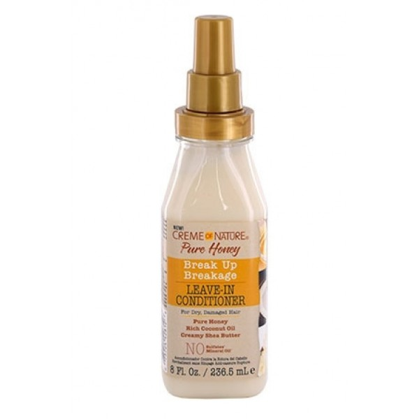 CREME OF NATURE Leave-in anti-casse PURE HONEY 236.5ml
