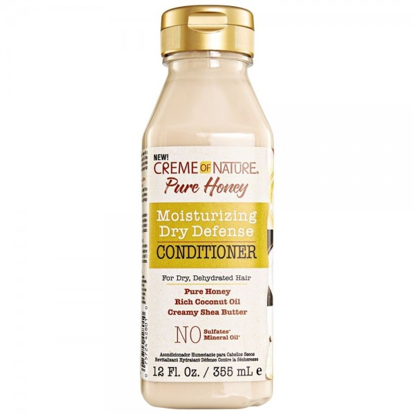 CREME OF NATURE Après-shampooing pour cheveux secs PURE HONEY 355ml