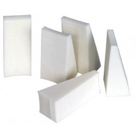 BRITTNY Latex triangle make-up sponges x32
