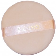 BRITTNY'S Houpette cosmétique grand format(Cosmetic Puff)