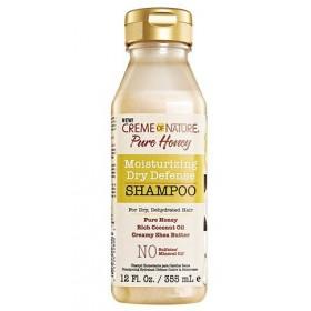CREME OF NATURE Shampooing pour cheveux secs PURE HONEY 355ml
