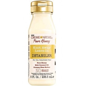 CREME OF NATURE Démêlant sans rinçage PURE HONEY 236.5ml