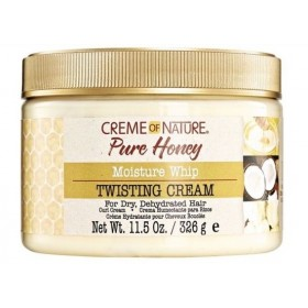CREME OF NATURE Crème définissante pour boucles & twists PURE HONEY (Twisting Cream) 326g