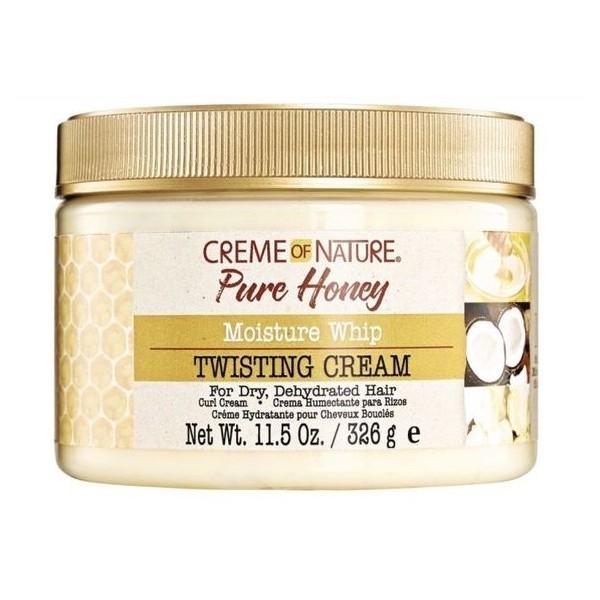 CREME OF NATURE Crème définissante pour boucles & twists PURE HONEY (Twisting Cream) 326g