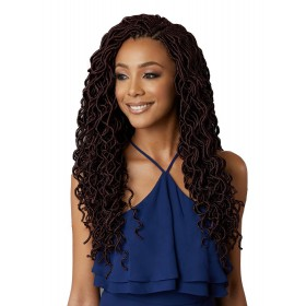 "BOBBI BOSS natte CURLY LOCS 18"" (Loop)"