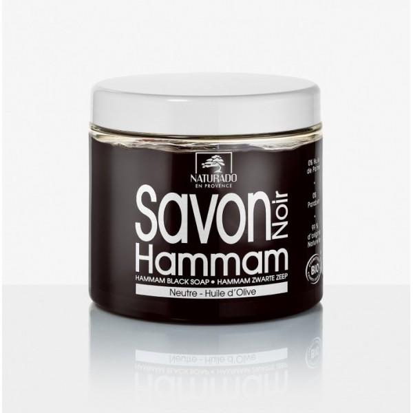 NATURADO Savon noir HAMMAM NEUTRE 600g