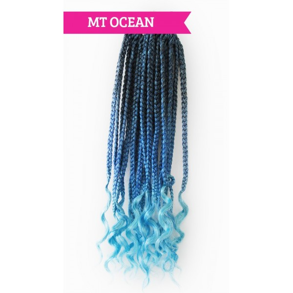 "URBAN BEAUTY natte 2x REAL BOX BRAID 14"" (Loop)"