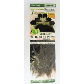 "URBAN BEAUTY tissage BRAZILIAN STRAIGHT 16/12/18"" 7pcs"