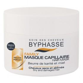BYPHASSE Masque capillaire cheveux secs Karité et Miel 250ml