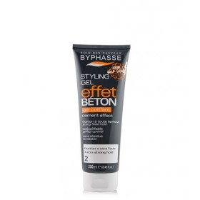 BYPHASSE Gel extra fort (Xtrem) effet béton 250ml