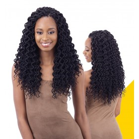 "FREETRESS natte 2x SOFT CURLY FAUX LOC 14"" (Loop)"