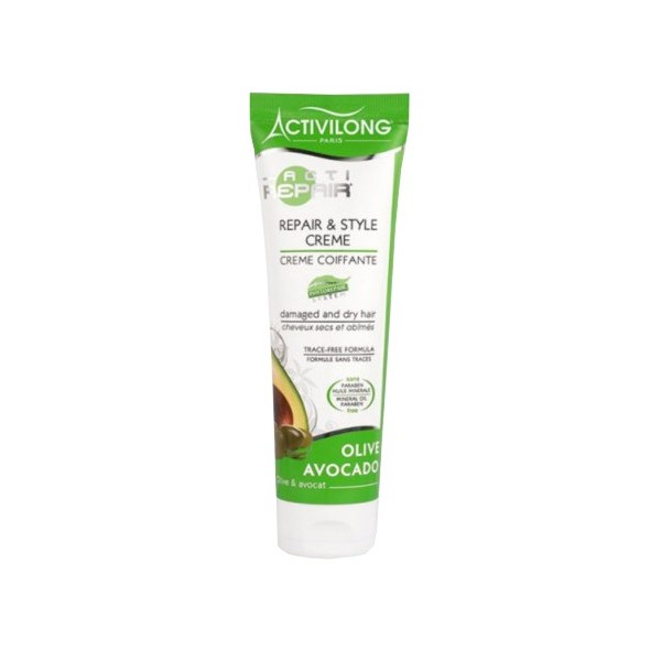 Crème coiffante acti-repair Avocat & Olive 125ml