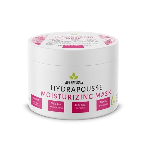 ELFY NATURALS Masque hydrapousse HIBISCUS & ALOE VERA
