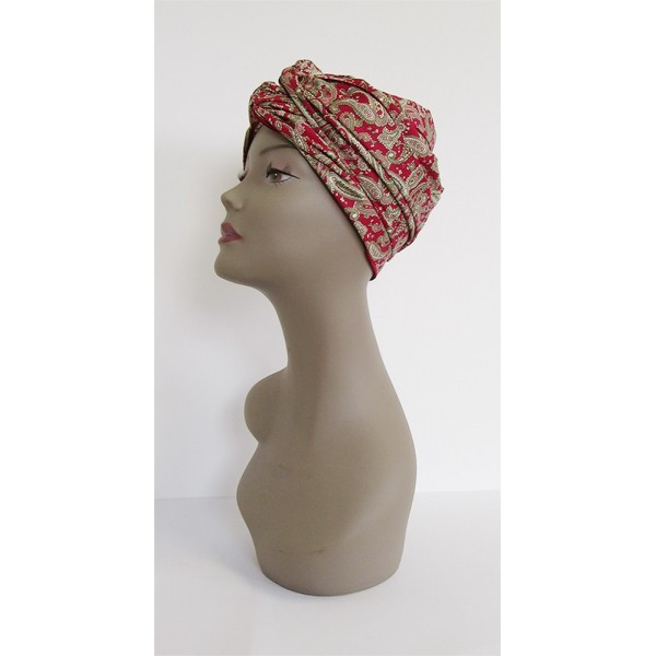 Turban LONG à nouer 100% coton