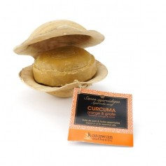 Savon ayurvédique CURCUMA & ORANGE 100g