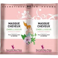 Masque cheveux EMBELLISSEUR BIO 2 doses de 8g