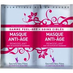 Masque anti-âge PEEL-OFF BIO 2 doses de 8g